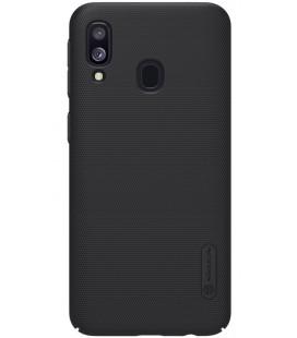 "Juodas dėklas Samsung Galaxy A40 telefonui ""Nillkin Frosted Shield"""
