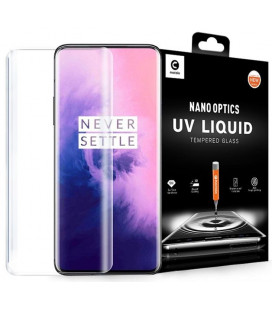 """Skaidrus apsauginis grūdintas stiklas Oneplus 7 Pro / 7T Pro telefonui """"Mocolo UV Glass"""""""
