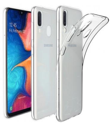 "Skaidrus dėklas Samsung Galaxy A20E telefonui ""Tech-Protect Flexair"""