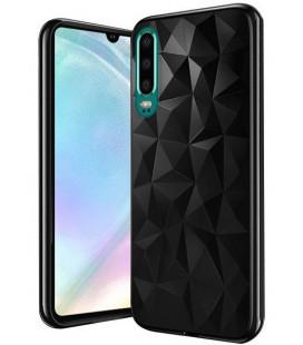 """Juodas dėklas Huawei P30 telefonui """"Diamond Case"""""""