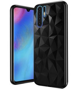 """Juodas dėklas Huawei P30 Pro telefonui """"Diamond Case"""""""