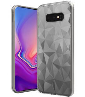 """Skaidrus dėklas Samsung Galaxy S10E telefonui """"Diamond Case"""""""