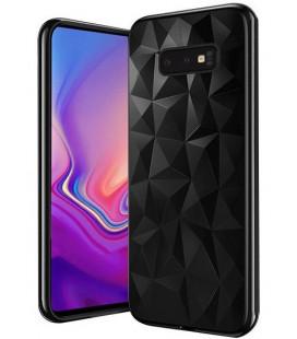 """Juodas dėklas Samsung Galaxy S10E telefonui """"Diamond Case"""""""