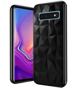 """Juodas dėklas Samsung Galaxy S10 telefonui """"Diamond Case"""""""