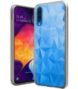 """Skaidrus dėklas Samsung Galaxy A50 telefonui """"Diamond Case"""""""