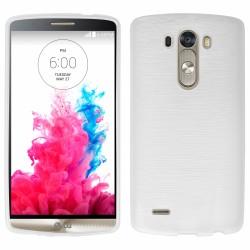 """Skaidrus silikoninis dėklas LG G3 D855 telefonui """"Jelly Metallic"""""""