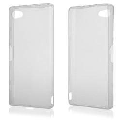 "Skaidrus silikoninis dėklas Sony Xperia Z5 Compact telefonui ""Fitty"""