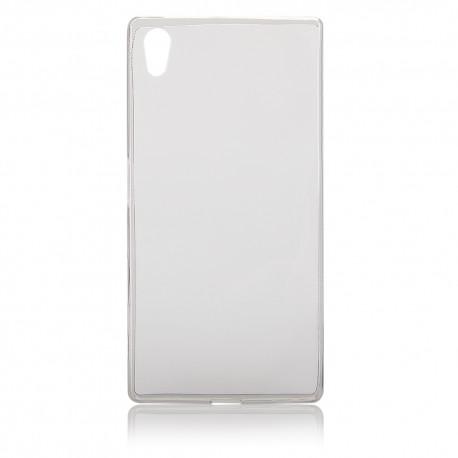 "Skaidrus silikoninis dėklas Sony Xperia Z5 telefonui ""Fitty"""