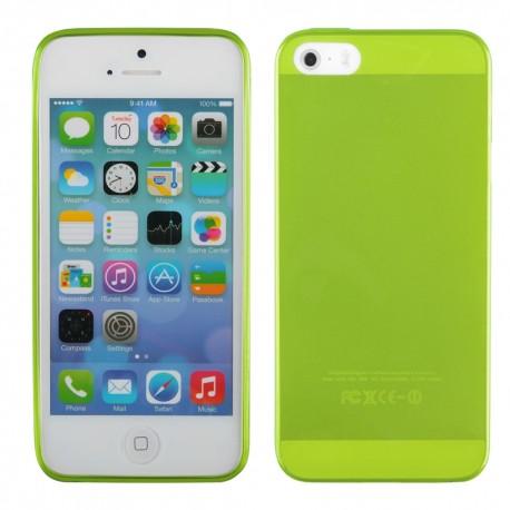"""Žalias silikoninis dėklas Apple iPhone 5/5s telefonui """"Fitty"""""""