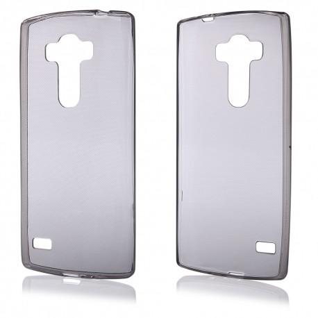 """Juodas silikoninis dėklas LG G4s H735 telefonui """"Fitty"""""""