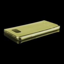 Labai gražus auksinės spalvos iPhone 6 telefono dėklas su nupiešta karūna, papaušta Kristalais. Pagamintas iš plastiko