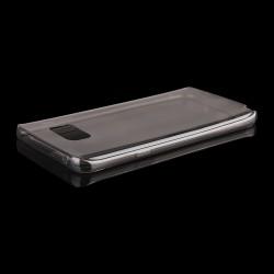 Juodas plonas 0,3mm silikoninis dėklas Samsung Galaxy Note 5 telefonui