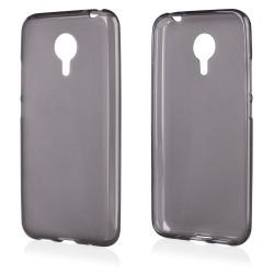 """Juodas silikoninis dėklas Meizu MX5 telefonui """"Frosted"""""""