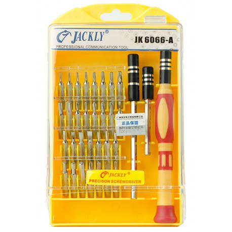 Precizinių įrankių komplektas 33in1 Jackly JK6066-A