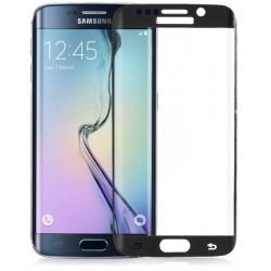 Apsauginis grūdintas stiklas su rėmeliu juodas Samsung Galaxy S6 Edge plus g928 telefonui