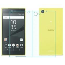 Apsauginiai grūdinti stiklai Sony Xperia Z5 E6603 telefonui (Priekiui ir galui) 2vnt.