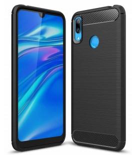 """Juodas dėklas Huawei Y6 2019 telefonui """"Tech-Protect"""""""