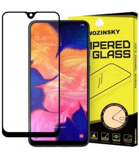 """Juodas apsauginis grūdintas stiklas Samsung Galaxy A10 telefonui """"Wozinsky Full Glue CF"""""""