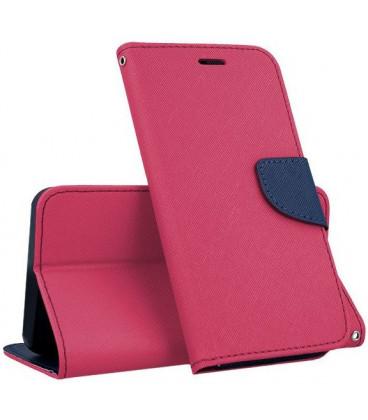 """Rožinis atverčiamas dėklas Samsung Galaxy A40 telefonui """"Telone Fancy"""""""