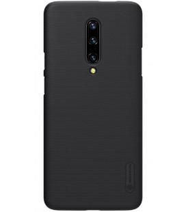 """Juodas dėklas Oneplus 7 Pro telefonui """"Nillkin Frosted Shield"""""""