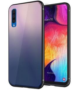 """Dėklas """"Aurora"""" Samsung A505 A50 rudas-juodas"""