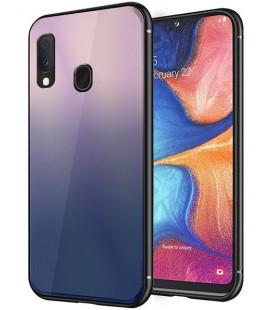 """Dėklas """"Aurora"""" Samsung A202 A20e rudas-juodas"""