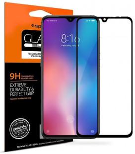 """Apsauginis grūdintas stiklas Xiaomi Mi 9 telefonui """"Spigen Glas.TR Slim"""""""