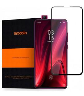 """Juodas apsauginis grūdintas stiklas Xiaomi Mi 9T telefonui """"Mocolo"""""""