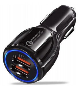 "Automobilinis pakrovėjas 12v/24v 3.1A ""Quick Charge 3.0 QC3.0"""