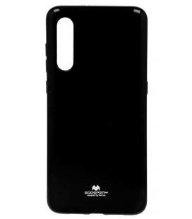 """Juodas silikoninis dėklas Xiaomi Mi 9 telefonui """"Mercury Goospery Pearl Jelly Case"""""""