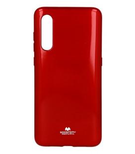 """Raudonas silikoninis dėklas Xiaomi Mi 9 telefonui """"Mercury Goospery Pearl Jelly Case"""""""