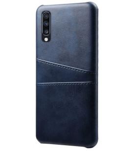 "Dėklas ""Leather Card Case"" Samsung A202 A20e tamsiai mėlynas"