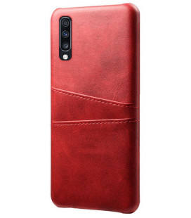 "Dėklas ""Leather Card Case"" Samsung A405 A40 raudonas"