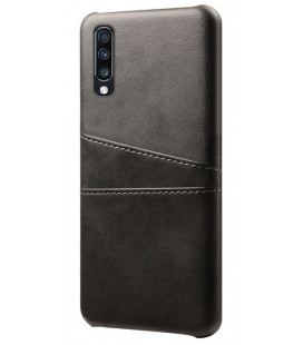 "Dėklas ""Leather Card Case"" Samsung A505 A50 juodas"