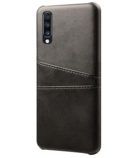 "Dėklas ""Leather Card Case"" Samsung A705 A70 juodas"