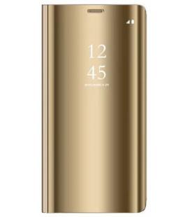 """Dėklas """"Sview"""" Samsung A705 A70 auksinis"""