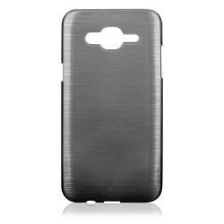 """Juodas silikoninis dėklas Samsung Galaxy J5 J500 telefonui """"Jelly Metallic"""""""