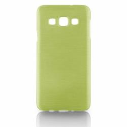 """Žalias silikoninis dėklas Samsung Galaxy A3 A300 telefonui """"Jelly Metallic"""""""