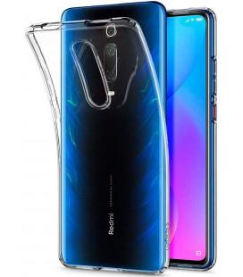 "Skaidrus dėklas Xiaomi Mi 9T telefonui ""Spigen Liquid Crystal"""