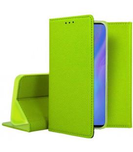 """Žalias atverčiamas dėklas Huawei P30 Pro telefonui """"Smart Book Magnet"""""""