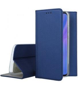 """Mėlynas atverčiamas dėklas Huawei P30 Pro telefonui """"Smart Book Magnet"""""""
