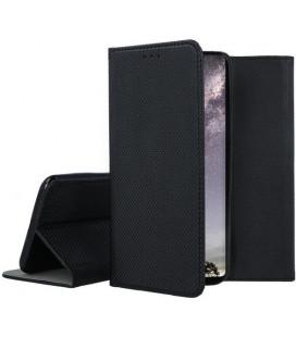 """Juodas atverčiamas dėklas Xiaomi Mi 9 SE telefonui """"Smart Book Magnet"""""""