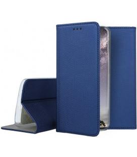 """Mėlynas atverčiamas dėklas Xiaomi Mi 9 SE telefonui """"Smart Book Magnet"""""""