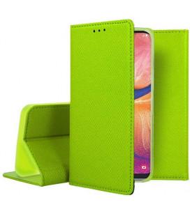 """Žalias atverčiamas dėklas Samsung Galaxy A20E telefonui """"Smart Book Magnet"""""""