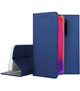 """Mėlynas atverčiamas dėklas Xiaomi Mi 9T telefonui """"Smart Book Magnet"""""""