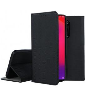 """Juodas atverčiamas dėklas Xiaomi Mi 9T telefonui """"Smart Book Magnet"""""""
