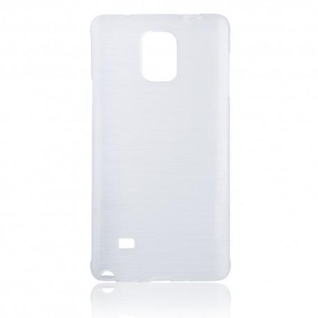 """Skaidrus silikoninis dėklas Samsung Galaxy Note 4 N910 telefonui """"Jelly Metallic"""""""