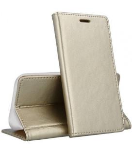"Dėklas ""Smart Magnetic"" Samsung A105 A10 auksinis"