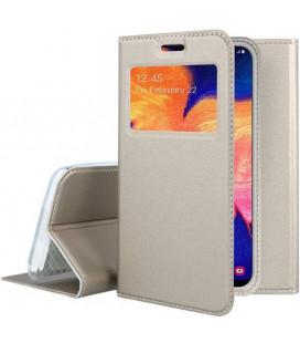 "Dėklas ""Smart Look"" Samsung A105 A10 auksinis"