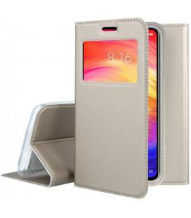 "Dėklas ""Smart Look"" Xiaomi Redmi Note 7/Note 7 Pro auksinis"